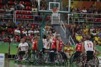 La selección de basket en silla de ruedas hace historia y jugará la final paralímpica