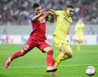 El Villarreal salva con empate un mal día en Bucarest