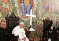 El Papa en Georgia: