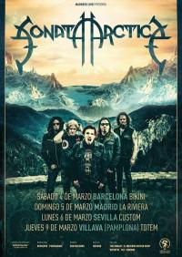 Sonata Arctica presentarán nuevo disco en Barcelona, Madrid, Sevilla y Pamplona