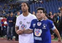 Maradona y Ronaldinho lideran un 'Partido por la Paz' promovido por el Papa Francisco