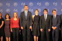 Los reyes presiden el Premio Planeta con Puigdemont, Pastor, Santamaría y Catalá