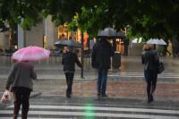 Las lluvias se concentran hoy en el centro del país
