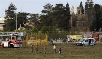Al menos cinco muertos tras estrellarse un avión en el aeropuerto de Malta