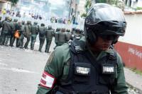 Muere tiroteado un policía venezolano durante las protestas