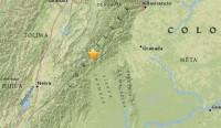 Dos terremotos de magnitud 5,4 y 5 sacuden el centro de Colombia