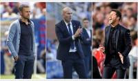 Luis Enrique, Zidane y Simeone, candidatos a 'Entrenador de la FIFA 2016'