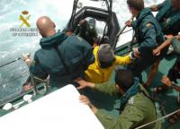 Interceptan en las últimas 72 horas tres pateras con 36 inmigrantes a bordo en las costas de Murcia
