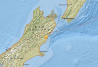 Registrado un nuevo terremoto de magnitud 6,2 en Nueva Zelanda
