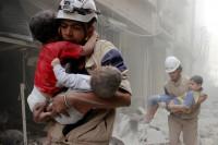 Cerca de 300 personas mueren en Alepo en 72 horas
