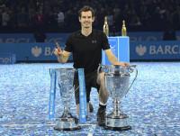 Murray cierra el 2016 como número uno y Maestro