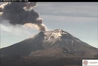 Alerta amarilla en México por la actividad sísmica del volcán Popocatépetl