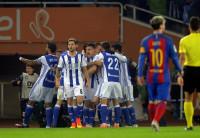 Messi rescata un milagroso punto para el Barça en un Anoeta maldito
