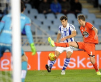 El Deportivo busca alejar el fantasma del descenso ante la Real Sociedad