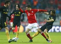 Un golazo de Lewandowski deja sin pleno al Atlético