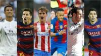 Cristiano, Messi, Griezmann, Suárez, Bale y Neymar buscan este lunes el Balón de Oro
