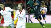 El Sevilla saca su mejor versión y la Real no baja el nivel