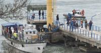 La mayoría de las víctimas del siniestro en el mar Muerto continúan dentro del avión sumergido