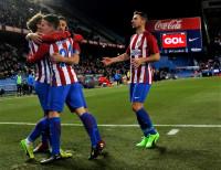 El Atlético engrasa la artillería con la vista en semifinales (3-0)