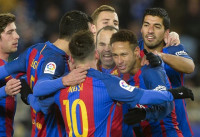 El Barça derriba el ogro de Anoeta