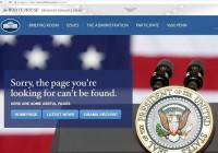 La web de la Casa Blanca se olvida del español