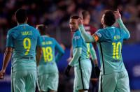 Messi se multiplica y el Barça toma Ipurua