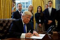 Trump da 'luz verde' por decreto a los oleoductos Keystone y Dakota Access