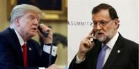 Rajoy se ofrece a Trump para mediar con América Latina y Europa