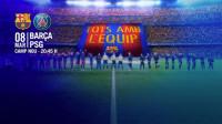 El Camp Nou lucirá el tifo 'Todos con el equipo' y 80.000 banderas ante el París Saint-Germain
