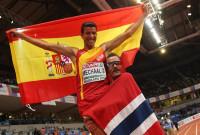 Adel Mechaal, campeón de Europa de 3000 metros
