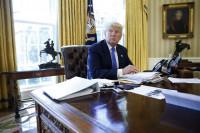 Trump asegura a Abbas que la paz