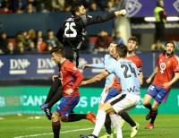 El Eibar pincha y aleja el sueño europeo ante Osasuna