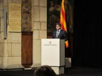 Puigdemont pide comparecer en el Senado para dar una conferencia sobre el referéndum