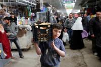 El este de Mosul vuelve lentamente a la vida