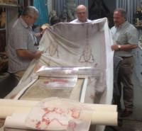 Científicos identifican la lanzada al cadáver que fue envuelto en la Sábana Santa y el Sudario de Oviedo