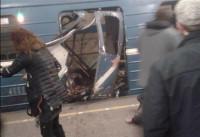 Una explosión en el metro de San Petersburgo deja diez muertos
