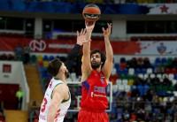 Baskonia batalla pero no logra derrocar al poderoso CSKA