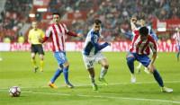 El Sporting no pasa del empate con el Espanyol