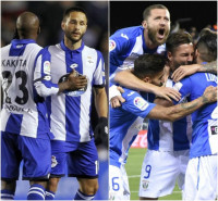 El Deportivo busca la permanencia matemática en El Sadar y el Leganés, rozarla