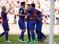 La MSN basta para vencer a un combativo Villarreal