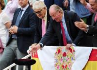 Don Juan Carlos disfruta de una tarde de toros en Las Ventas