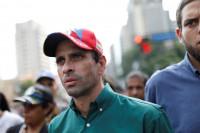 Heridos Capriles y un diputado de Primero Justicia durante las protestas en Caracas