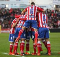 El Gerona busca ante el Zaragoza un punto que certifique su ascenso directo