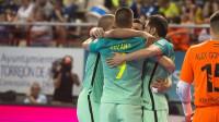 El Barça se lleva el primer punto en los penaltis