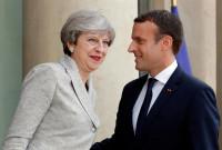 Macron y May acuerdan elaborar un