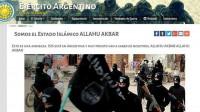 Hackean la página del Ejército argentino y dejan mensajes del Estado Islámico