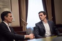 Sánchez y Rivera acuerdan promover la reforma constitucional