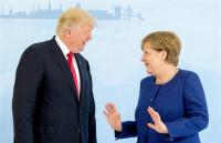 Merkel y Trump se reúnen en vísperas del G20 sin entrar en polémicas