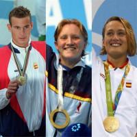 Belmonte logra el cuarto oro en la historia de la natación española