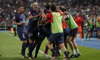 Alves dirige la remontada del PSG ante el Mónaco en la Supercopa francesa